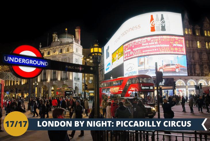 LONDON BY NIGHT: un salto all'Hard Rock Cafè Store a Piccadilly Circus e poi ammireremo Buckingham Palace di notte!