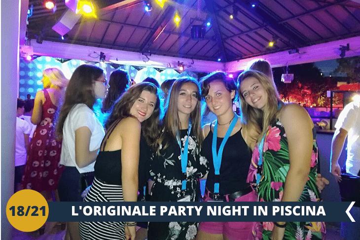 VALENCIA BY NIGHT: divertentissimo party notturno in piscina di fine soggiorno per concludere in bellezza!