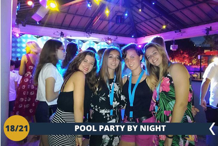 VALENCIA BY NIGHT divertentissimo party notturno in piscina di fine soggiorno per concludere in bellezza!