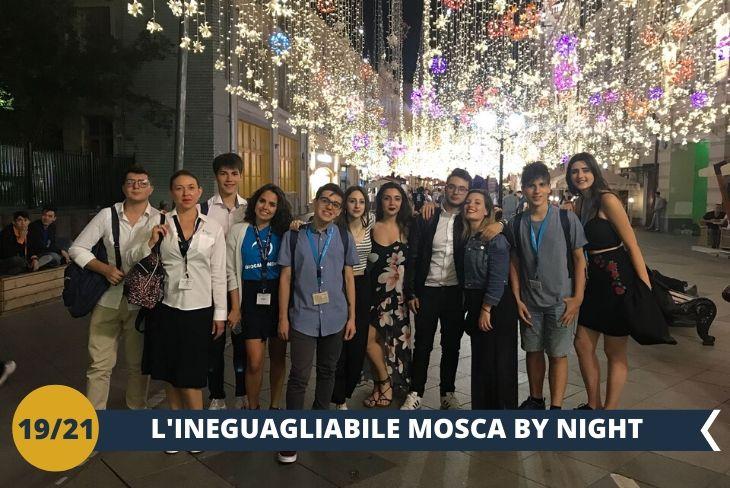 MOSCA BY NIGHT, per godere del suo splendore di notte!
