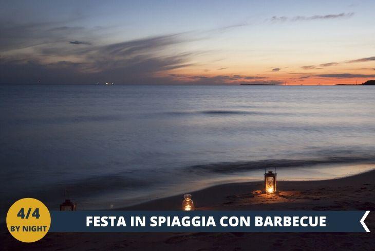 MALTA BY NIGHT nelle spiagge più belle del mediterraneo, un barbecue in perfetto stile maltese