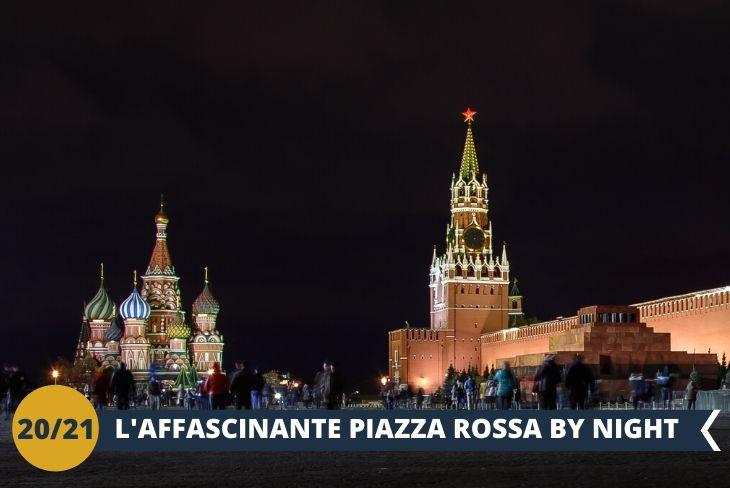 MOSCA BY NIGHT,walking tour per ammirare la meravigliosa Piazza Rossa di notte!