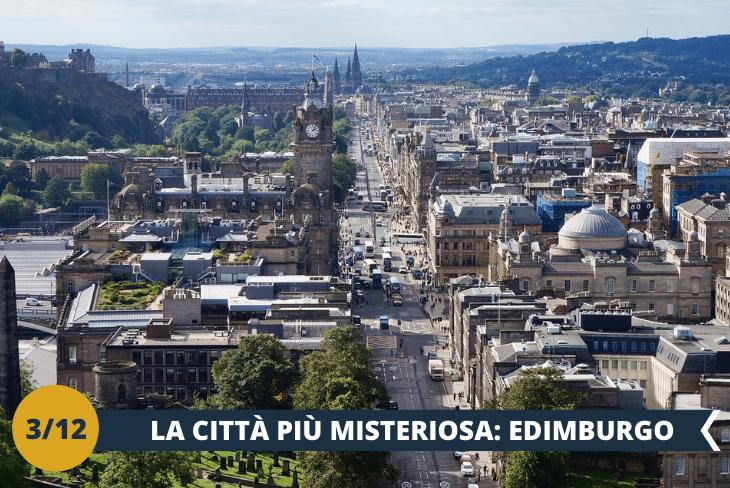 ESCURSIONE DI INTERA GIORNATA ad EDIMBURGO, un affascinante tour nella città ricca di storia e di fascino e con un'atmosfera unica in Europa. Ogni via che visiteremo sarà come sfogliare un libro di storia, dove ogni luogo ci racconterà un aneddoto di questa splendida città.