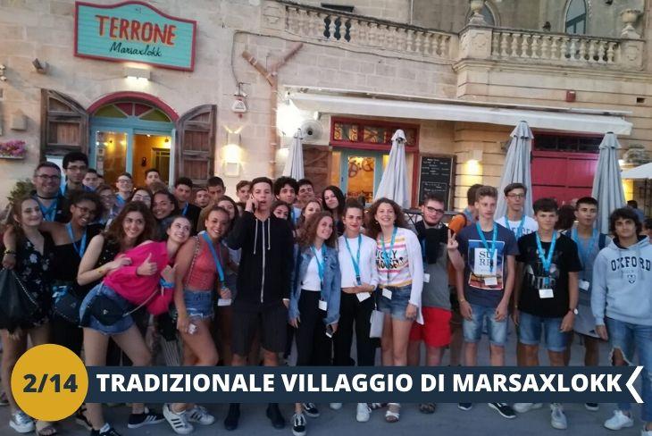 """Marsaxlokk & Vittoriosa significa """"Porta a Sud-Est"""" ed è un villaggio di pescatori famoso in tutto l'arcipelago per le coloratissime case e le imbarcazioni tipiche che costeggiano il mare (Escursione di mezza giornata)"""