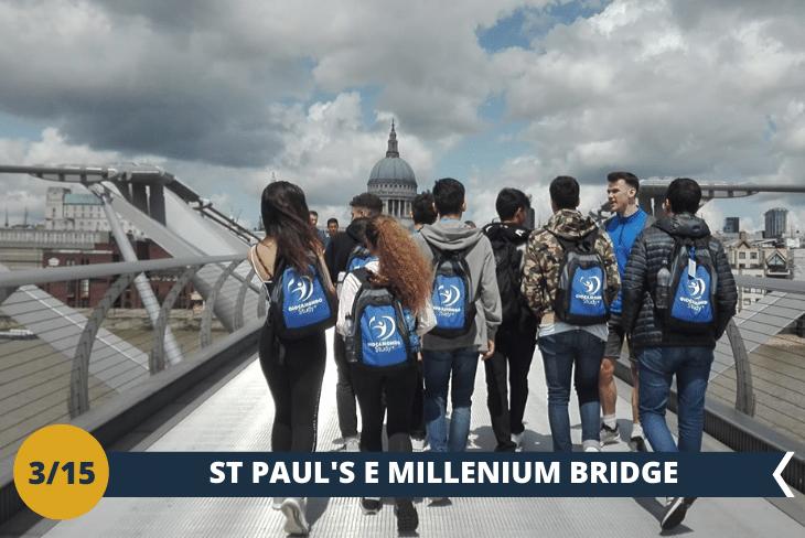 Walking tour alla scoperta della frizzante zona di Southbank: dopo una visita alla famosa galleria d'arte Tate Modern, passeggeremo lungo il Millenium bridge, lo Shakspeares' globe, St Paul's, e il Tower bridge. (escursione di mezza giornata)
