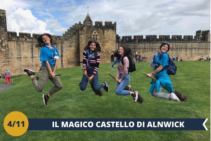 ESCURSIONE DI INTERA GIORNATA all' ALNWICK CASTLE  (INGRESSO INCLUSO), il secondo più grande castello abitato dell'Inghilterra (secondo solo al castello di Windsor) costruito nel 1096 da Yves de Vescy, barone di Alnwick. Il meraviglioso castello perfettamente conservato è stato utilizzato per ambientare il castello di Hogwarts nei film Harry Potter e la Pietra Filosofale ed Harry Potter e la camera dei segreti