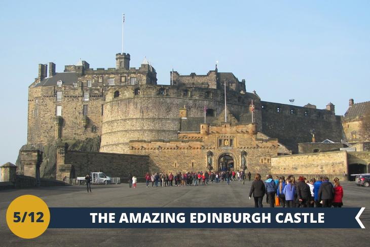Visita al CASTELLO DI EDIMBURGO (INGRESSO INCLUSO), il favoloso castello scozzese più famoso al mondo. Al suo interno è custodita la storia della Scozia. La parte più antica del Castello, risale addirittura al 1100 ed è la Cappella di Santa Margherita (St Margaret's Chapel). A questa segue la Great Hall fatta costruire da James IV intorno al 1510. A seguire percorreremo la Royal mile, la via più antica della città, tra vicoli piazze e palazzi storici (escursione di mezza giornata)