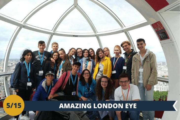 London Eye: (INGRESSO INCLUSO) l'attrazione numero uno di Londra!(escursione di mezza giornata)