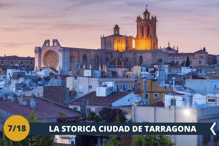 ESCURSIONE DI INTERA GIORNATA : visiteremo Tarragona e la sua atmosfera tipica spagnola, con stradine e vicoli che sfociano in storiche piazze. La città patrimonio dell'UNESCO, presenta monumenti di epoca romana in cui è inserito un anfiteatro, ottimamente conservato ed una straordinaria cattedrale. Circondata da spiagge sterminate la giornata terminerà con un divertente pomeriggio al mare