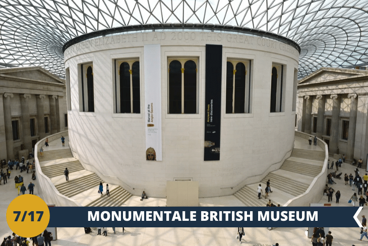 British Museum: uno dei più grandi ed importanti musei della storia del mondo, che si trova nella bellissima zona centrale di Bloomsbury (escursione mezza giornata)