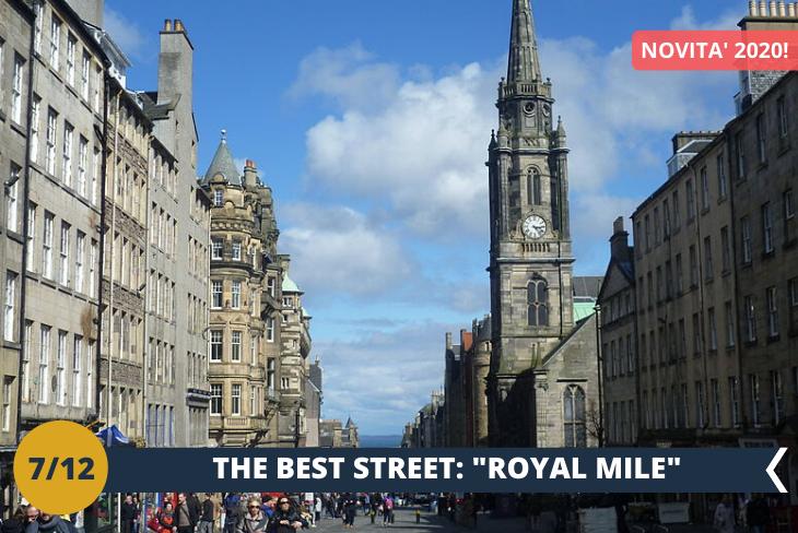 Il Royal Mile è la via più famosa del centro di Edimburgo: una magnifica strada ricca di fascino antico, di atmosfere gotiche e di monumenti da visitare. (escursione di mezza giornata)