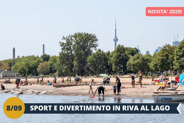 NEW! WOODBINE BEACH: sport e tanto divertimento in una delle spiagge più belle di Toronto! Potrete passeggiare o correre sulla sabbia, giocare a beach volley e fare il bagno. Il lago Ontario che bagna Toronto è talmente ampio da sembrare un mare, in più troverete anche scoiattoli, cigni e tanto verde! (escursione mezza giornata)