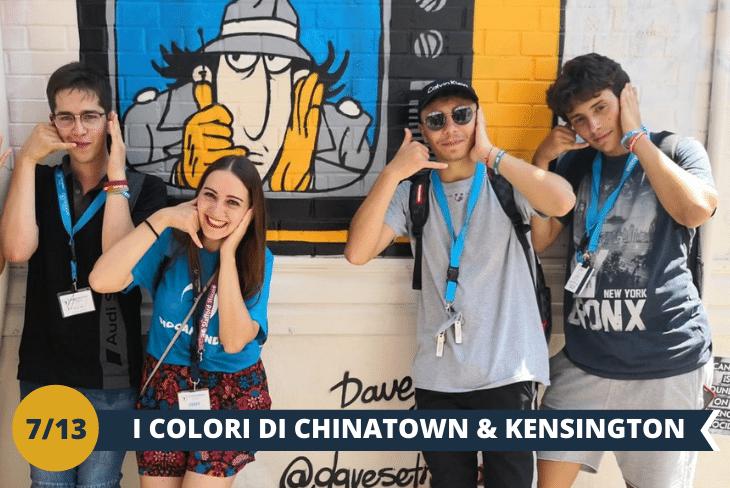 KENSINGTON MARKET & CHINA TOWN: esploreremo i 2 quartieri più colorati e multiculturali di Toronto, con un imperdibile tour tra le suggestive strade di China Town e nella miriade di colori, suoni e sapori della vivace area di Kensington Market: acquista e assaggia cibi locali e internazionali mentre passeggi tra strade colorate ripercorrendo un secolo di storia canadese. (escursione mezza giornata)