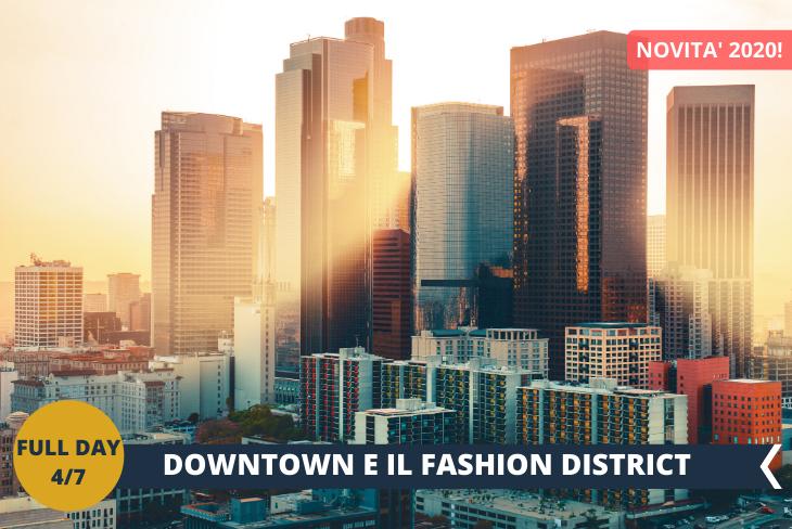 NEW! SANTE ALLEY: è il Fashion District di Los Angeles, il punto della città dove si concentra la maggior parte della attività relative alla moda; non solo negozi di abbigliamento, quindi, ma anche aziende e centri che lavorano nel mondo delle sfilate e del fashion.