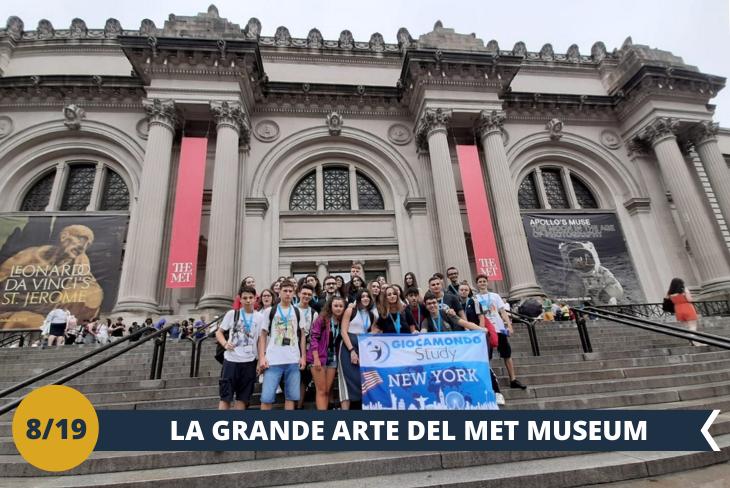 Entrata e visita al METROPOLITAN MUSEUM OF ART, MET (INGRESSO INCLUSO), uno dei maggiori richiami turistici di New York e uno dei più grandi musei di arte al mondo. (escursione di mezza giornata)