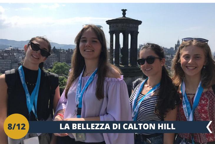 Saliremo sulla famosissima collina di CALTON HILL, da cui si può ammirare il più bel panorama di Edimburgo!  (escursione di mezza giornata)