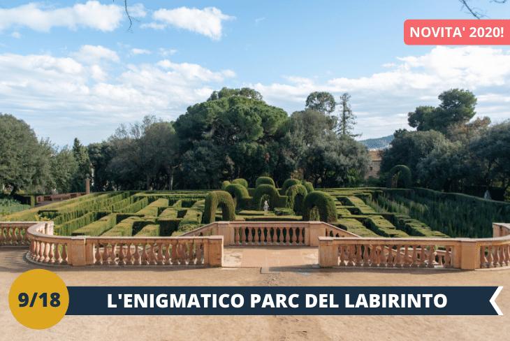 NEW! Il parco del labirinto è considerato il parco più antico di BARCELLONA ed anche la versione catalana dell'Alhambra di Granada, una magnifica proprietà reale circondata da un bellissimo gioco di fontane e giardini.(escursione mezza giornata)