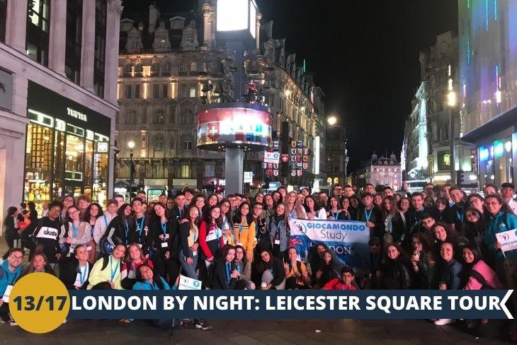 LONDON BY NIGHT: una serata nel fulcro della vita londinese: Leicester Square!