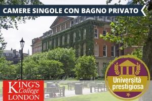 UK – LONDRA KING'S COLLEGE – NELLA MIGLIORE UNIVERSITÀ DEL REGNO AL CENTRO DI LONDRA -