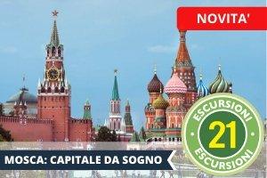 Vacanze Studio all'estero conformi Estate INPSieme 2021-MOSCA-SAN-PIETROBURGO