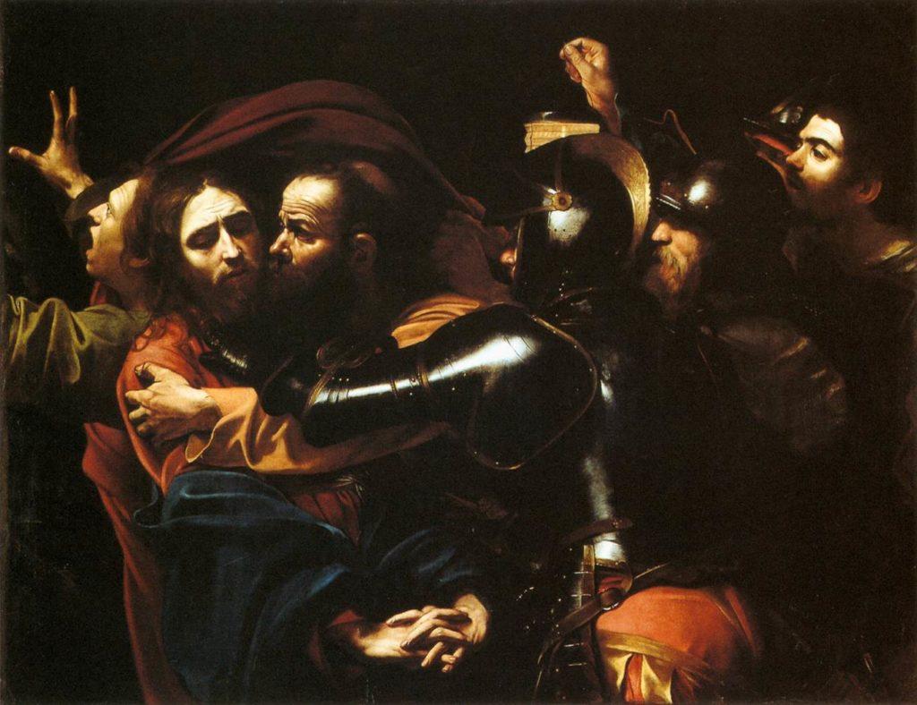 """Angolo delle news Giocamondo Study: vi presentiamo il """"National Gallery of Ireland"""" in Irlanda - Giocamondo Study-Caravaggio_-_Taking_of_Christ_-_Dublin-1024x788"""