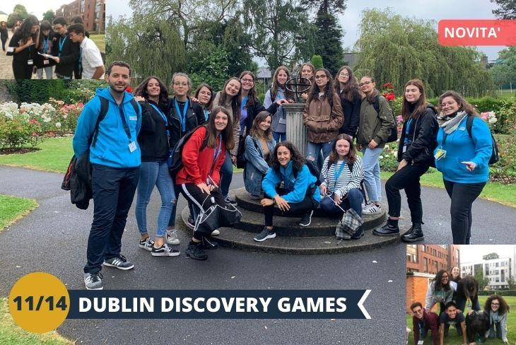 DUBLIN DISCOVERY GAME: Qual è il miglior modo di visitare nuovi angoli e quartieri se non scoprendoli? Un modo alternativo ed affascinante per scoprire nuove curiosità e realtà di questa fantastica capitale , per un pomeriggio all'insegna della scoperta e del divertimento! (escursione di mezza giornata)