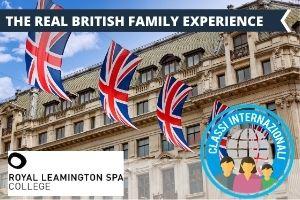 UK- UNA VACANZA STUDIO IN FAMIGLIA A LEAMINGTON SPA NOVITA' 2021 -