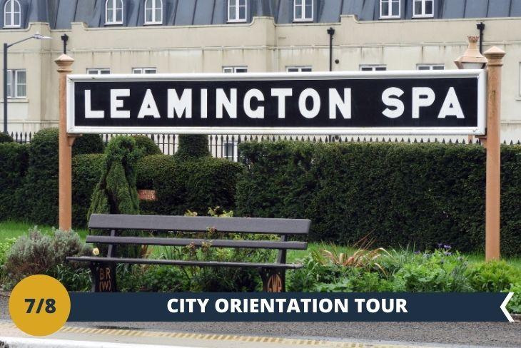LEAMINGTON ORIENTATION TOUR. Una passeggiata alla scoperta della cittadina di cui siamo ospiti. (escursione di mezza giornata)