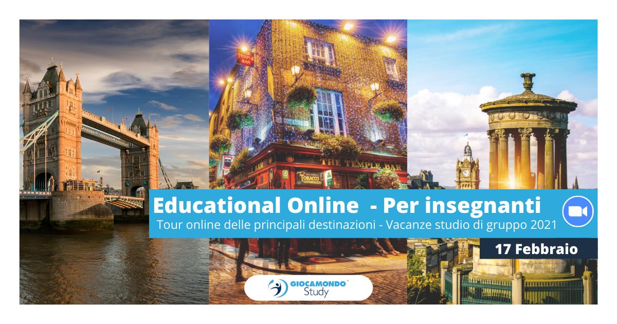 Educational dedicato a insegnanti | Tour delle principali destinazioni 2021 | Iscriviti all'evento > - Giocamondo Study-Grafiche-blog-2