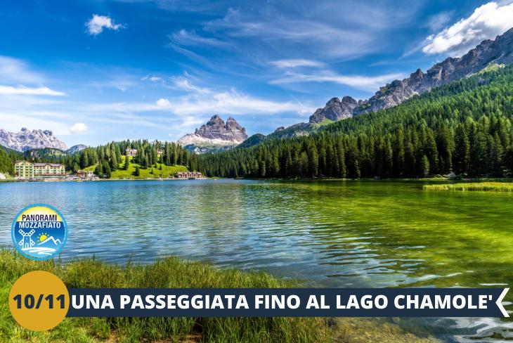 Lago di Chamolé -  Un avventuroso pomeriggio in mezzo alla natura. Prenderemo la funivia di Chamolè per poi raggiungere a piedi, con un veloce trekking, il lago alpino: uno specchio d'acqua racchiuso in una verde conca che offre un panorama d'eccezione sul Monte Bianco, sulla Valle del Gran San Bernardo e sul Gran Combin. (ESCURSIONE MEZZA GIORNATA)