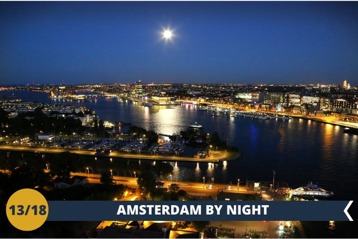 AMSTERDAM by NIGHT: passerete dei momenti divertenti a LEIDSEPLEIN, il luogo dei divertimenti e della vita notturna, dove è presente anche l 'HARD ROCK CAFÈ di Amsterdam!