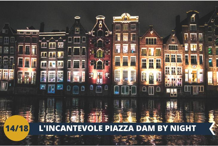 AMSTERDAM by NIGHT: un walking tour al centro di Amsterdam sotto le luci della famosa PIAZZA DAM.