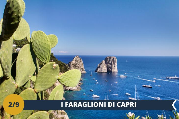 ESCURSIONE DI INTERA GIORNATA A Capri - Per il secondo giorno nello splendido Golfo di Napoli come non fare un salto a Capri, l'Isola della Grotta Azzurra? Faremo un magnifico tour per visitare la piccola isola e, attraverso la funicolare (ingresso incluso), saliremo nella parte alta della città per ammirare la celebre piazzetta di Capri, gli affascinanti vicoli  e stradine e i picchi rocciosi dei Faraglioni in tutta la loro bellezza. Riprenderemo poi il nostro bus e torneremo a Viterbo.
