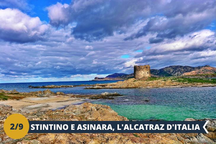 """ESCURSIONE DI INTERA GIORNATA ad Asinara e Stintino - una delle isole più belle d'Italia per la vegetazione incontaminata e fauna caratteristica, nonché per le meravigliose spiagge e acque cristalline che la circondano, l'Isola dell' Asinara è dichiarata dal 2002 Parco Nazionale ed Area Marittima Protetta. Una volta sbarcati, inizieremo un affascinante percorso panoramico a bordo di un trenino turistico (ingresso incluso), attraverso il quale ci immergeremo in un vero e proprio paradiso naturale e potremo incontrare il famoso asinello bianco, animale simbolo dell'isola. Faremo diverse soste per ammirare i siti di maggiore interesse naturalistico e storico dell'Isola, tra i quali: l'ex carcere di massima sicurezza di Fornelli, il belvedere di Cala Sant'Andrea, Punta Sa Nave dove cresce la """"centaurea horrida"""", specie endemica della Sardegna, Cala reale e la visita al C.R.A.M.A. (centro di recupero delle tartarughe marine), l'antico borgo di pescatori di Cala d'Oliva e l'ex diramazione carceraria. Concluderemo il nostro tour con una sosta bagno nelle acque limpide di Cala dell'Ossario L'escursione all'isola di Asinara comprende il prezzo del traghetto da Stintino."""
