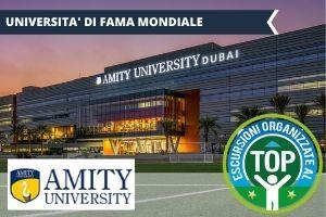 DUBAI: AMITY UNIVERSITY, UNA VACANZA STUDIO DA RECORD NEGLI EMIRATES -