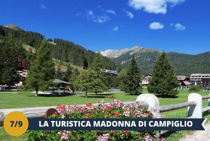 MADONNA DI CAMPIGLIO - Alla scoperta della perla delle Dolomiti, la celebre Madonna di Campiglio!! Elegante e raffinata, è una delle principali mete da non perdere se sei un amante delle Dolomiti del Brenta! (ESCURSIONE MEZZA GIORNATA)