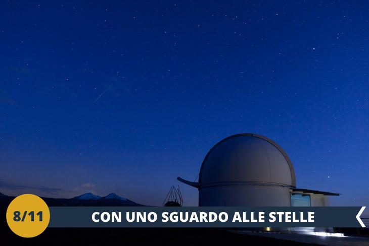 BY NIGHT: Dopo la visita alla cittadina di Aosta, prenderemo il bus e ci dirigeremo verso l'osservatorio astronomico della Valle D'Aosta per conoscere meglio il cielo e le sue costellazioni.