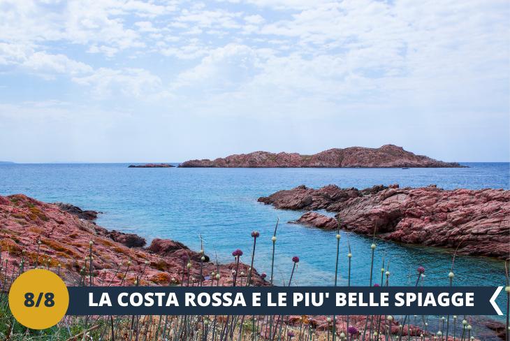 Isola Rossa e spiaggia Longa - un pomeriggio al mare in uno dei posti più turistici della Sardegna, il piccolo borgo di pescatori Isola Rossa, il quale ci regala splendidi colori, meravigliose spiagge di sabbia bianca finissima, l'azzurro incantevole del suo mare e il rosso delle sue rocce, ideale per un pomeriggio di relax.  (escursione mezza giornata)