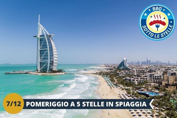 Un pomeriggio di divertimento tra piscina e spiaggia presso un incantevole Hotel a 5 stelle situato a Jumeirah Beach Residences, un rilassante quartiere con ristoranti, hotel, lounge e tantissimi intrattenimenti (Escursione di mezza giornata) A seguire cena con BBQ sotto le stelle