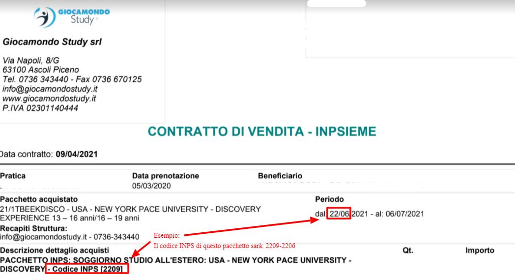 Estate INPSieme 2020 / 2021 destinazioni estero | Giocamondo Study-Contastto-GS