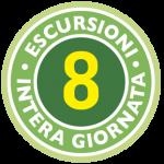 8 ESCURSIONE INTERA